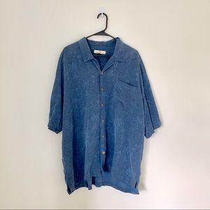 Tommy Bahama Hawaiian 100% Silk Shirt